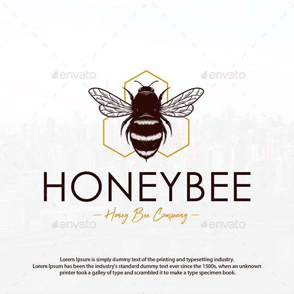 Bee Hive Creative Logo