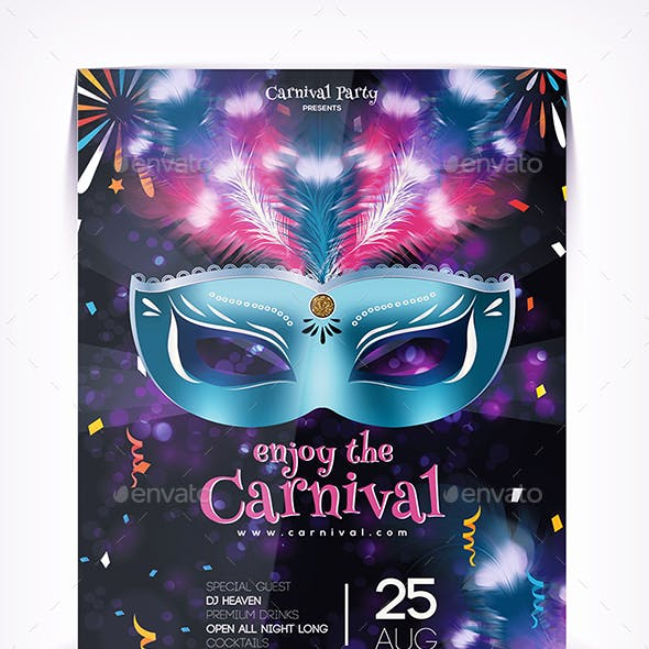 Enjoy the Carnival Flyer