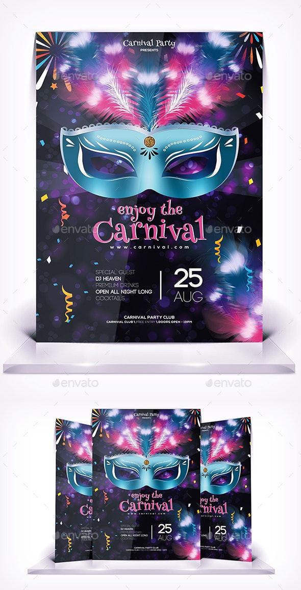 Enjoy the Carnival Flyer - Flyers Print Templates