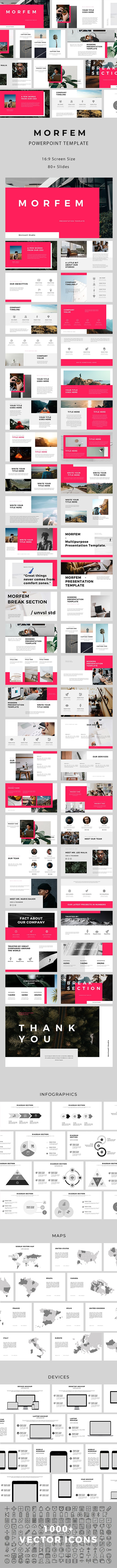 Morfem PowerPoint Template - Creative PowerPoint Templates