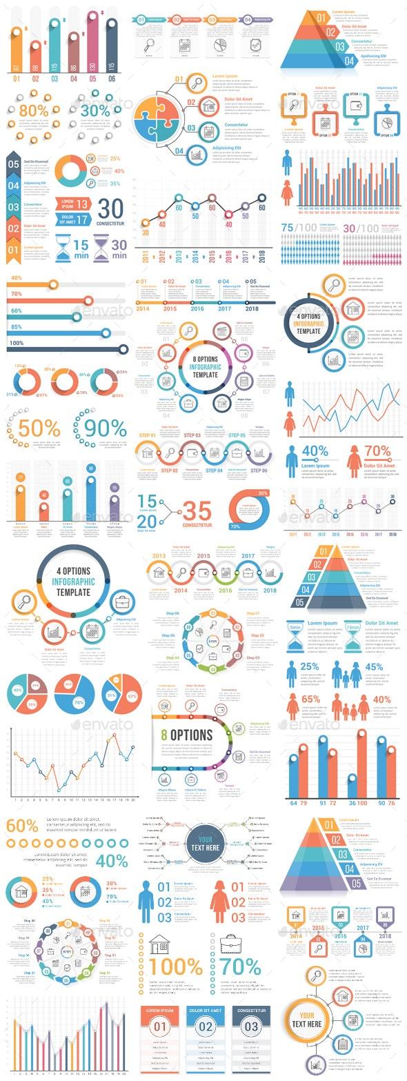 Infographic Elements Bundle - Infographics