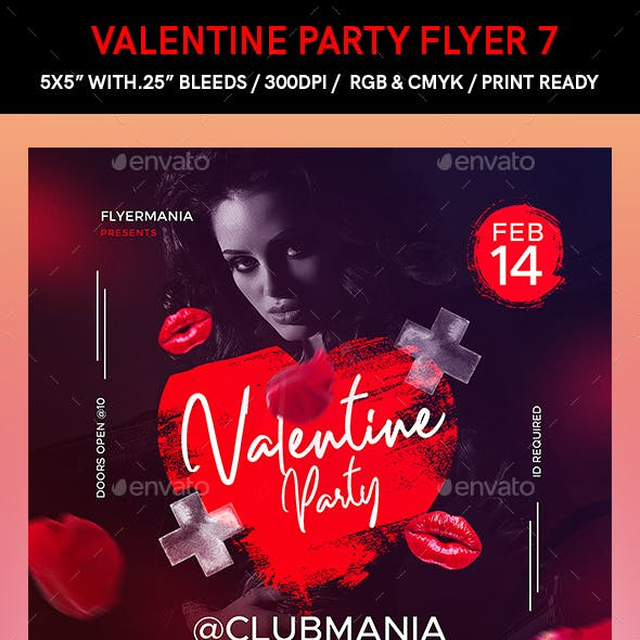 Valentine Party Flyer 7