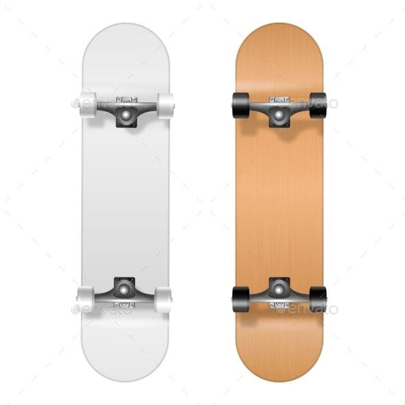 Skateboarding - Man-made Objects Objects
