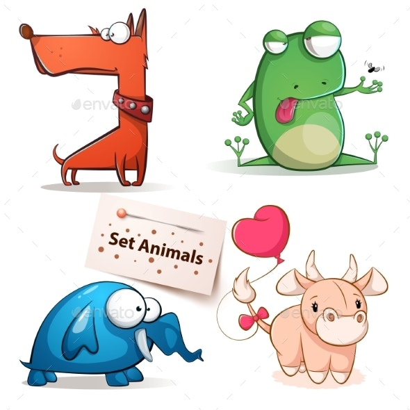 Animal Set - Animals Characters