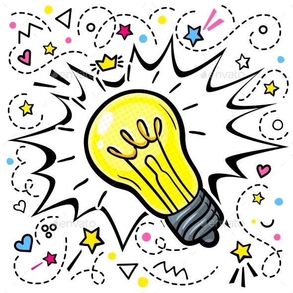 Concept of Idea - Miscellaneous Vectors
