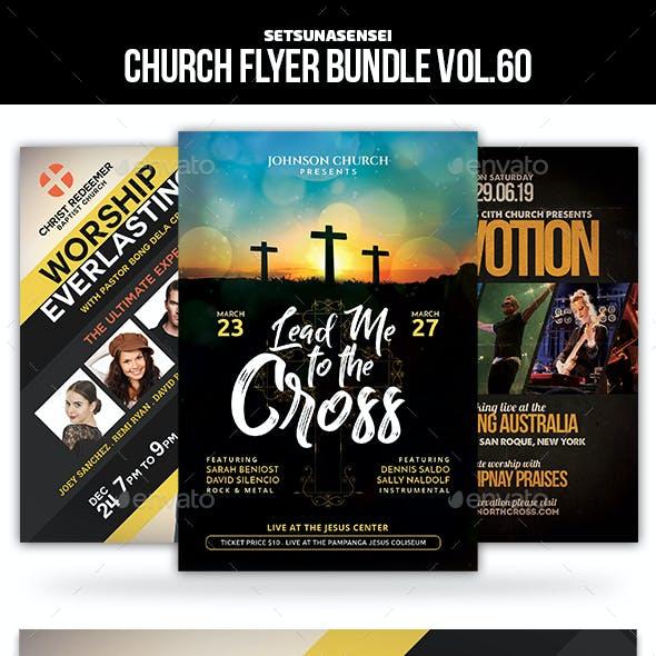 Church Flyer Bundle Vol. 60