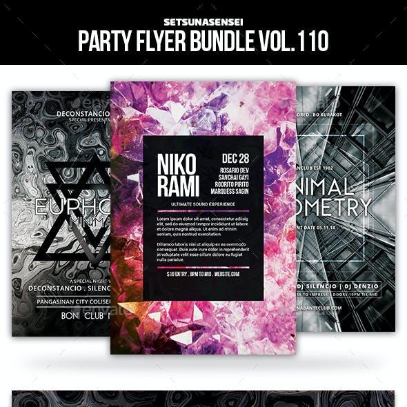 Party Flyer Bundle Vol.110