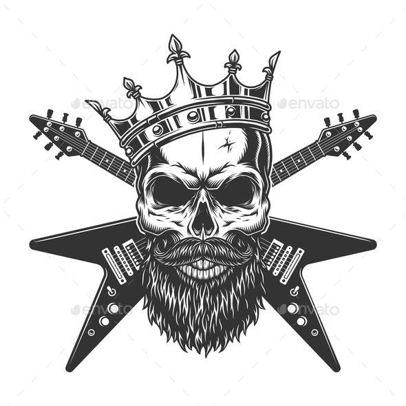 Vintage Rock Star - Miscellaneous Vectors
