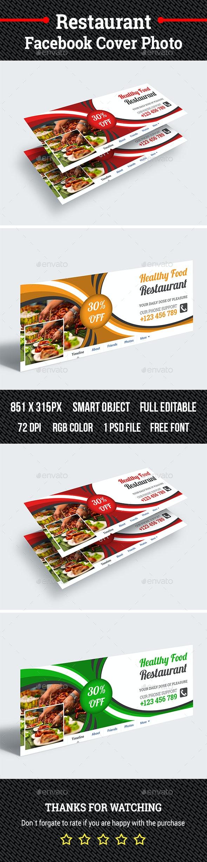 Restaurant Facebook Cover Photo - Facebook Timeline Covers Social Media