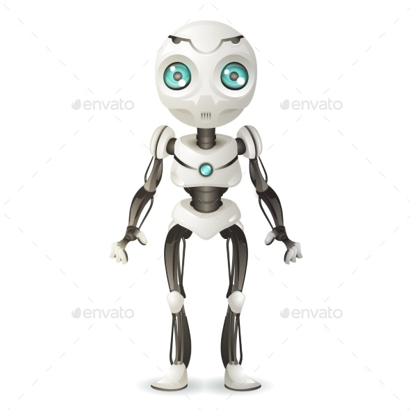 Artificial Intelligence Future Mechanical Mascot - Computers Technology