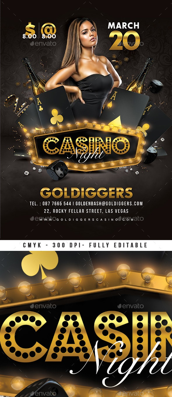 Classy Casino Night Party - Clubs & Parties Events
