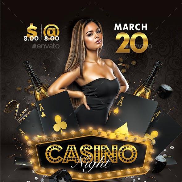 Classy Casino Night Party