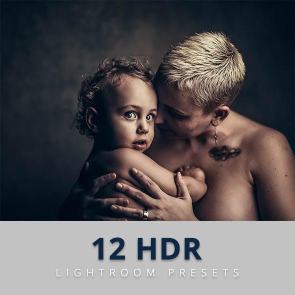 12 Hdr Lightroom Presets