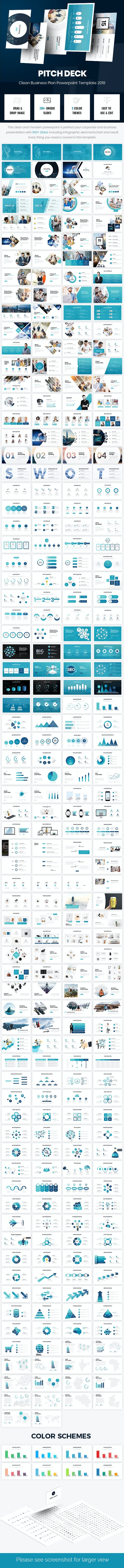 2 in 1 Pitch Deck Bundle Powerpoint Template 2019 - Business PowerPoint Templates