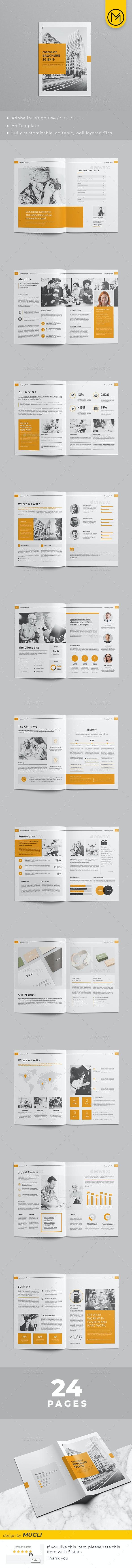 Brochures design - Corporate Brochures