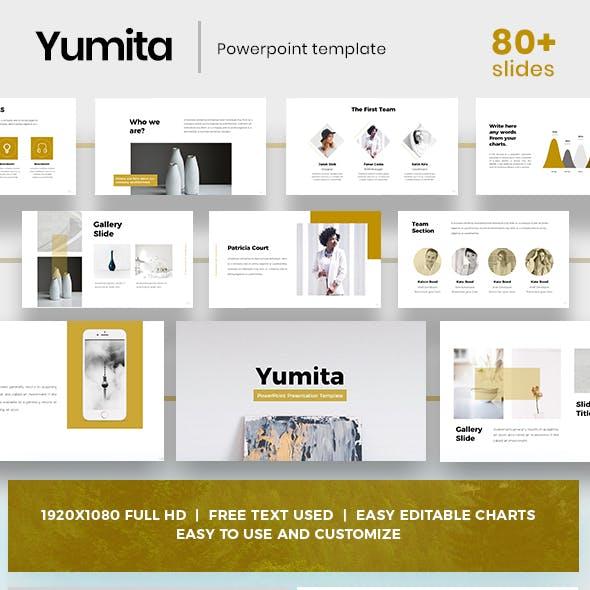 Yumita Powerpoint Template