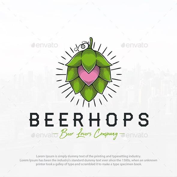 Beer Hops Love Logo