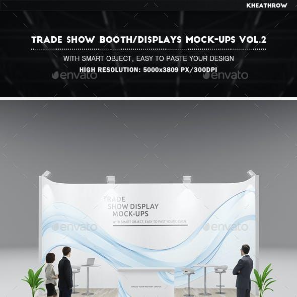 Trade Show Booth / Displays Mock-Ups Vol.2