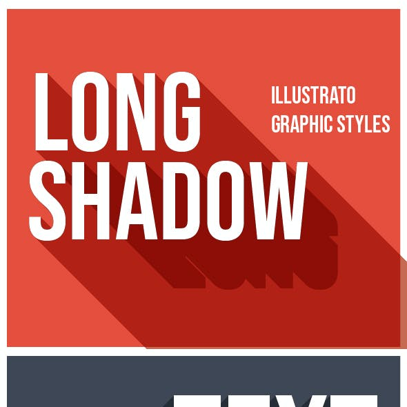 Long Shadow Text Effects