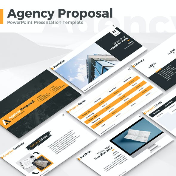 Agency Proposal - PowerPoint Template
