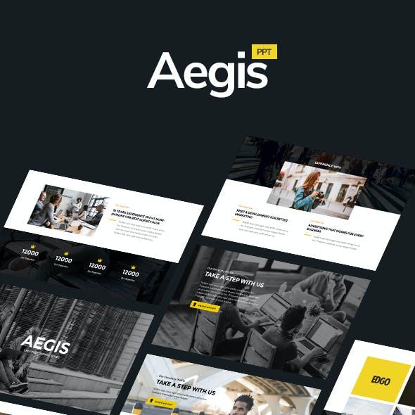 AEGIS - Creative Powerpoint Template