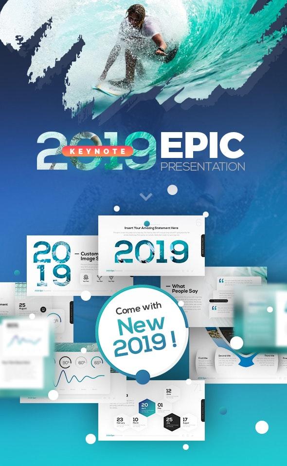 2018 Epic Keynote Presentation - Keynote Templates Presentation Templates