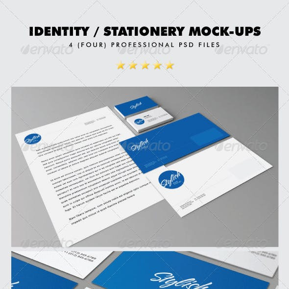 Identity / Stationery Mock-ups