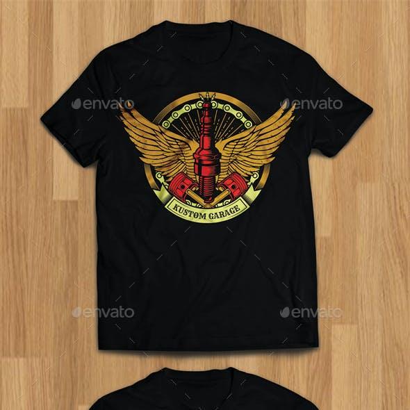 3 Vintage Motor Club Tshirt Design