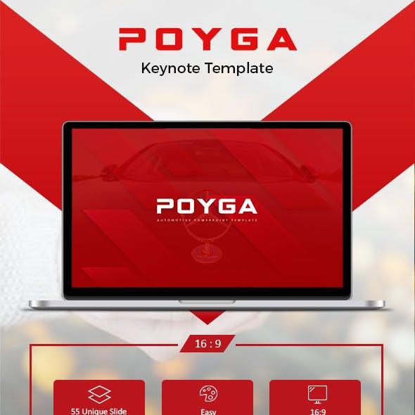 Poyga Automotive Keynote Template