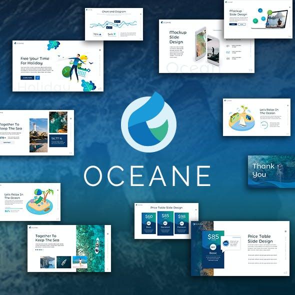 Oceane Keynote Template