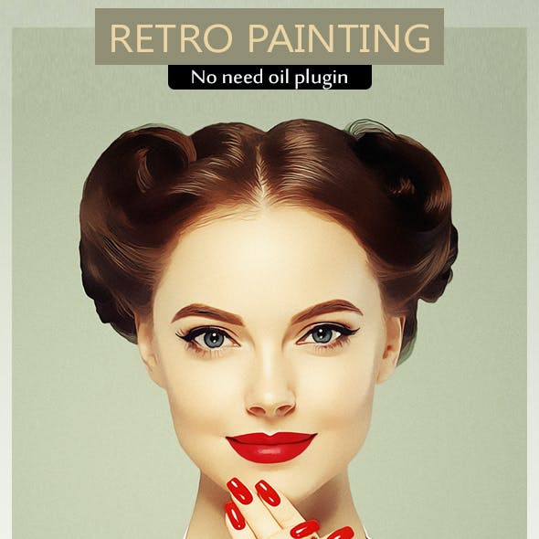 Retro Painting PS Action Vol.3