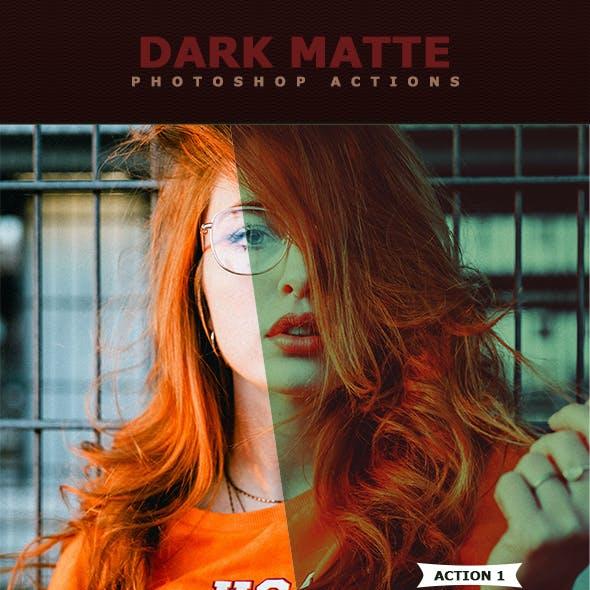 Dark Matte Actions