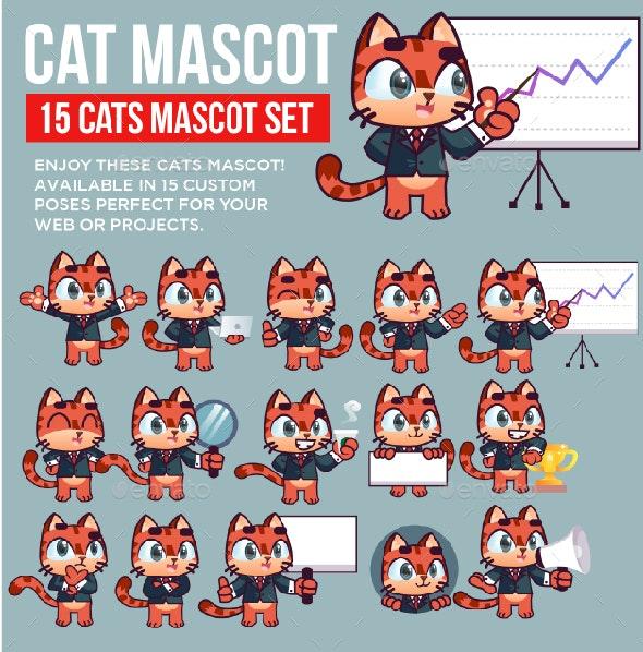Cat Mascot Kit - Animals Characters