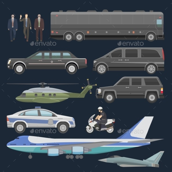 Government Vehicles - Man-made Objects Objects