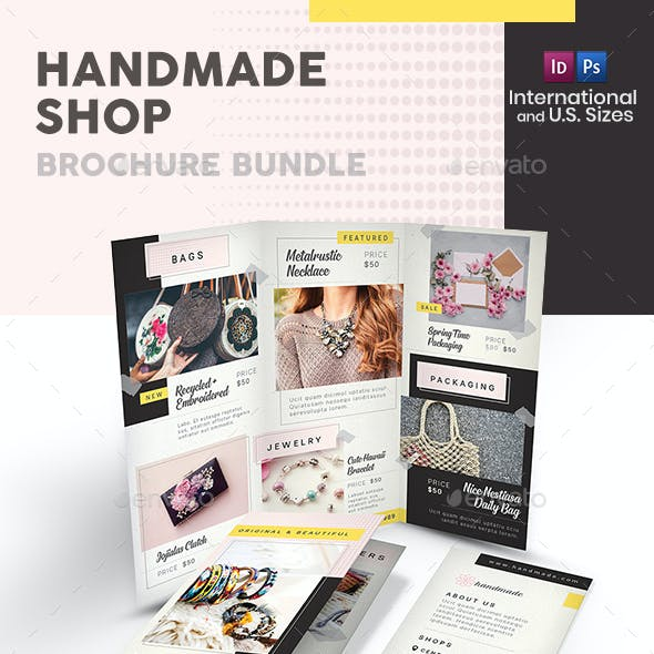 Handmade Shop Print Bundle 2