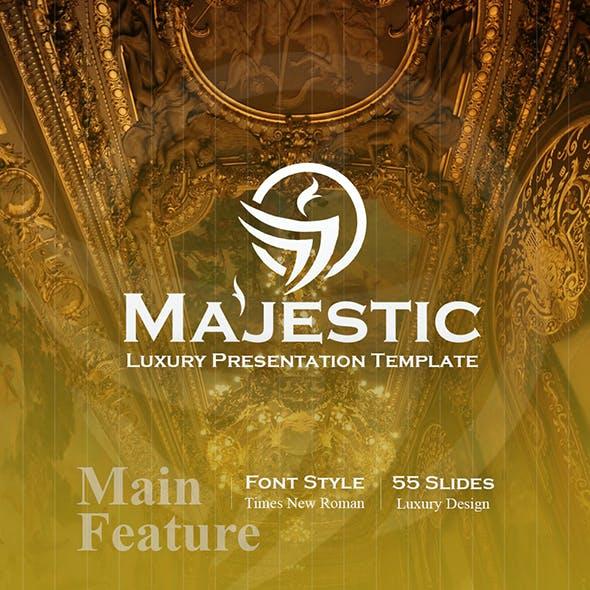 Majestic Luxury PowerPoint Template