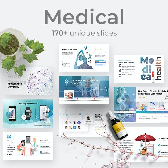 Medical & Healthy Powerpoint Template