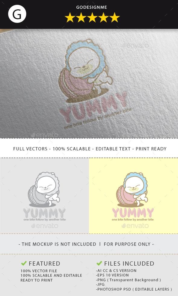 Yummy Logo Design - Vector Abstract