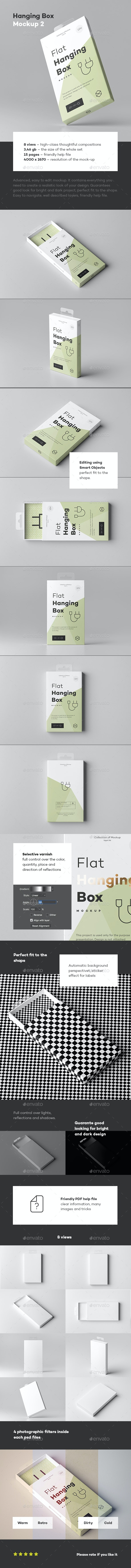 Hanging Box Mock-up 2 - Miscellaneous Packaging