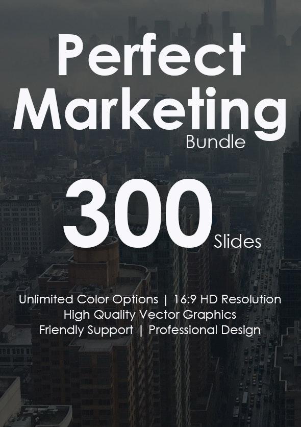 Perfect Marketing Google Slides Bundle - Google Slides Presentation Templates