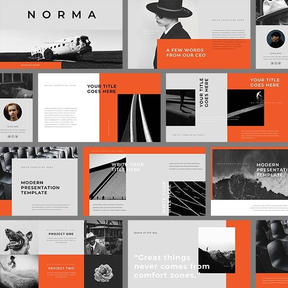 Norma Keynote Template