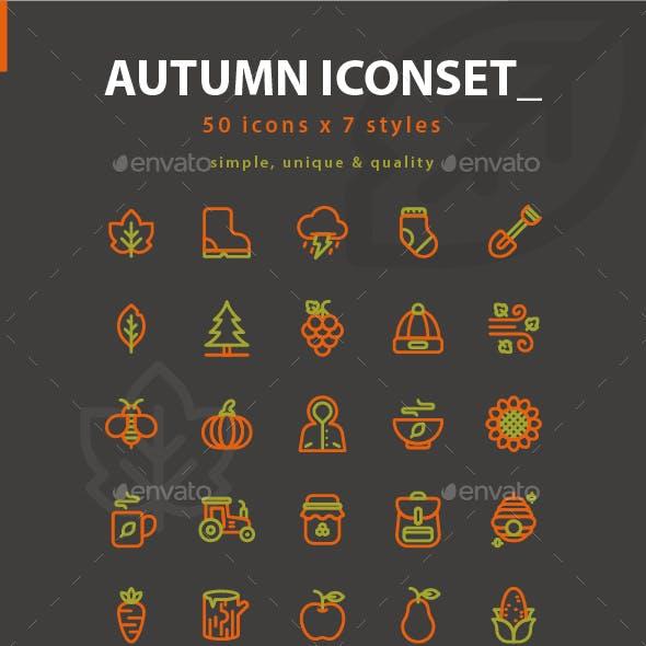 Autumn Iconset