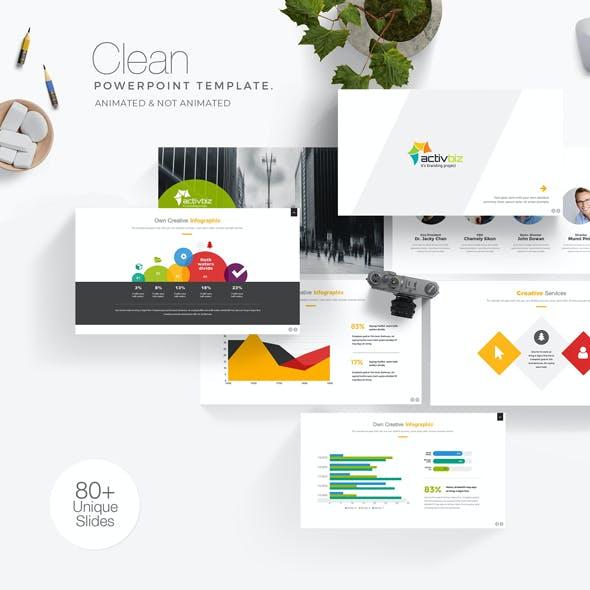 Activbiz Business PowerPoint Presentation