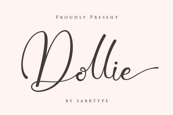 Dollie - Hand-writing Script