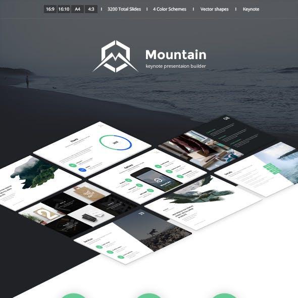 Mountain Creative Keynote Presentation Template