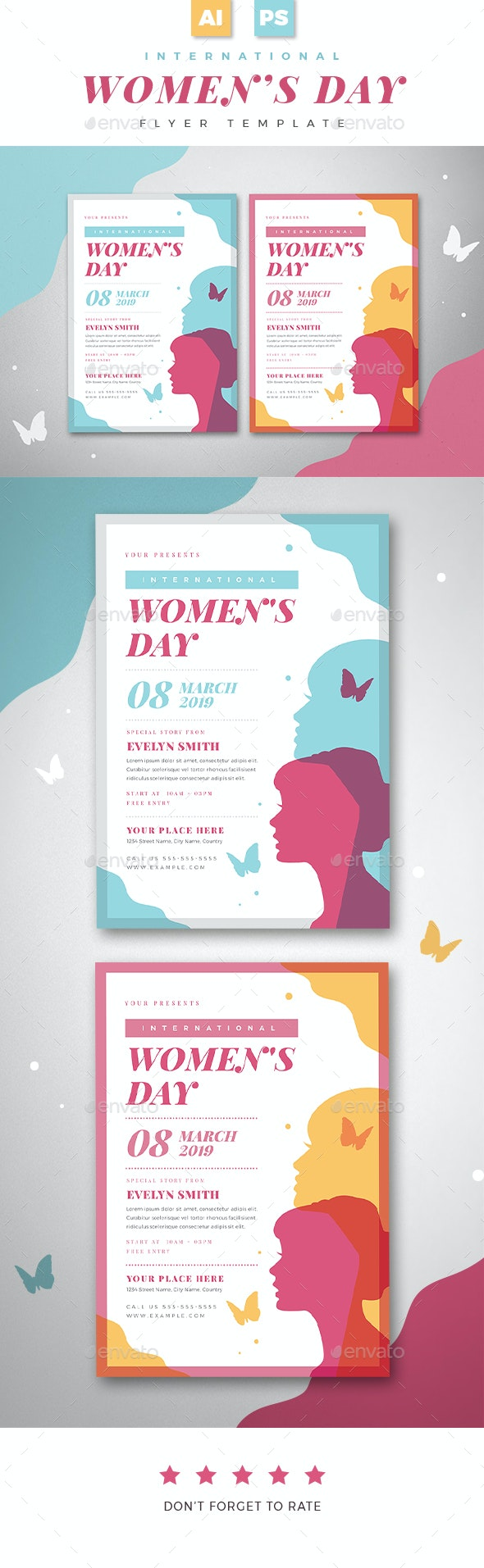 Womens Day Flyer 01 - Events Flyers