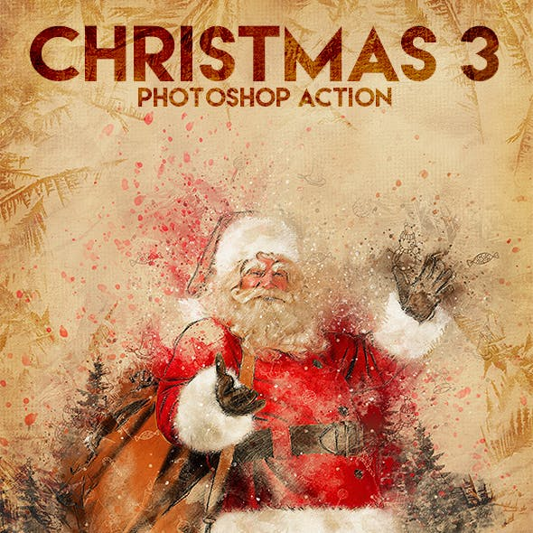 Christmas 3 Photoshop Action