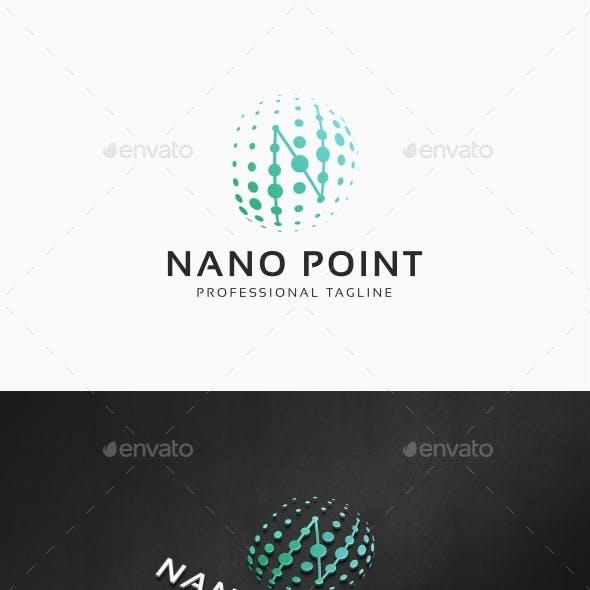 Nano Point - N Letter Logo