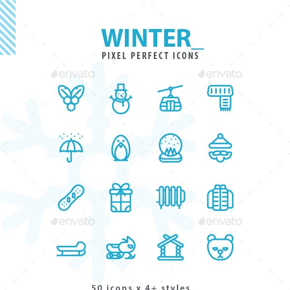 Winter Iconset