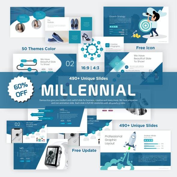 Millennial 2019 Presentation Template